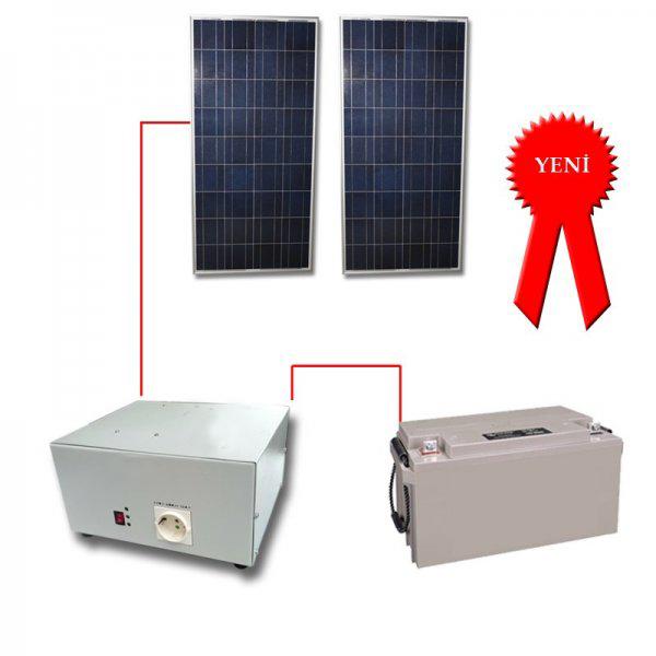 320w KosTeknik_Güneş Paneli Paket Sistemi